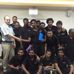 Školení DOCSIS Maledivy